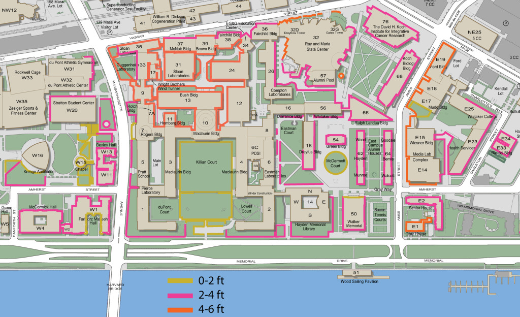 Vassar Campus Map Mit Campus Map Building The Green Building